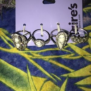 Shiny fashion rings (Claire's)